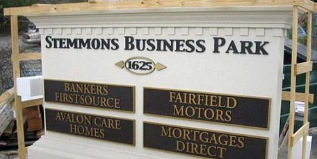 monument signs turnaround time and job site delivery